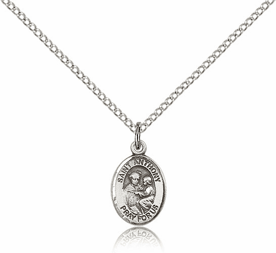 St. Anthony of Padua Sterling Silver Patron Saint Medal