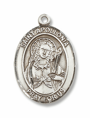 St Apollonia Patron Saint of Dentists/Dental Disease Jewelry & Gifts