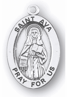 St Ava Patron Saint of Blindness Jewelry and Gifts