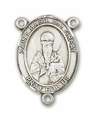 St Basil the Great Patron Saint Catholic Rosary Center by Bliss