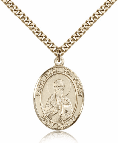 St Basil the Great Patron Saint Medal by Bliss