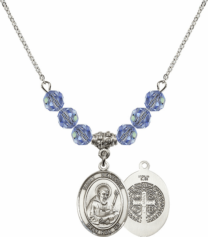St Benedict Beaded Medal Necklaces