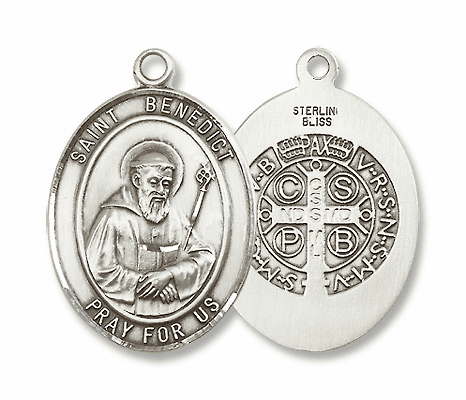 St Benedict Patron Saint for Kidney Disease/Against Evil Jewelry & Gifts