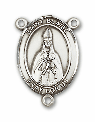 St Blaise Patron Saint Catholic Rosary Center by Bliss