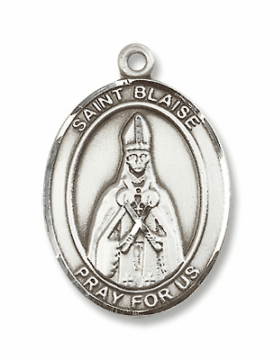 St Blaise Patron Saint for Throat Illness Jewelry & Gifts