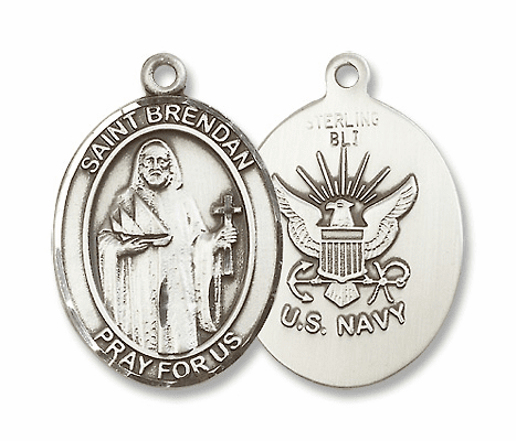 St. Brendan the Navigator Military Medals