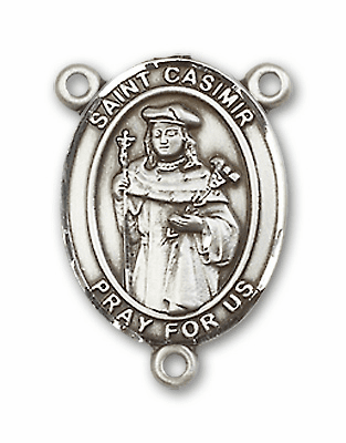 St Casimir of Poland Patron Saint Rosary Center by Bliss