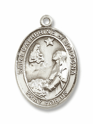 St Catherine of Bologna Patron Saint of Artists/Liberal Arts Jewelry & Gifts