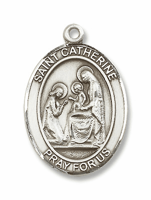 St Catherine of Siena Saint of Fire Prevention/Nurses Jewelry & Gifts