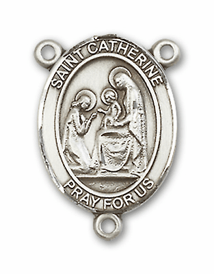 St Catherine of Siena Patron Saint of Fire Prevention Rosary Center
