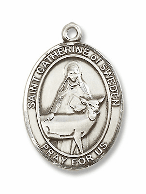 St Catherine of Sweden Saint of Miscarries/Anti-Abortion Jewelry & Gifts