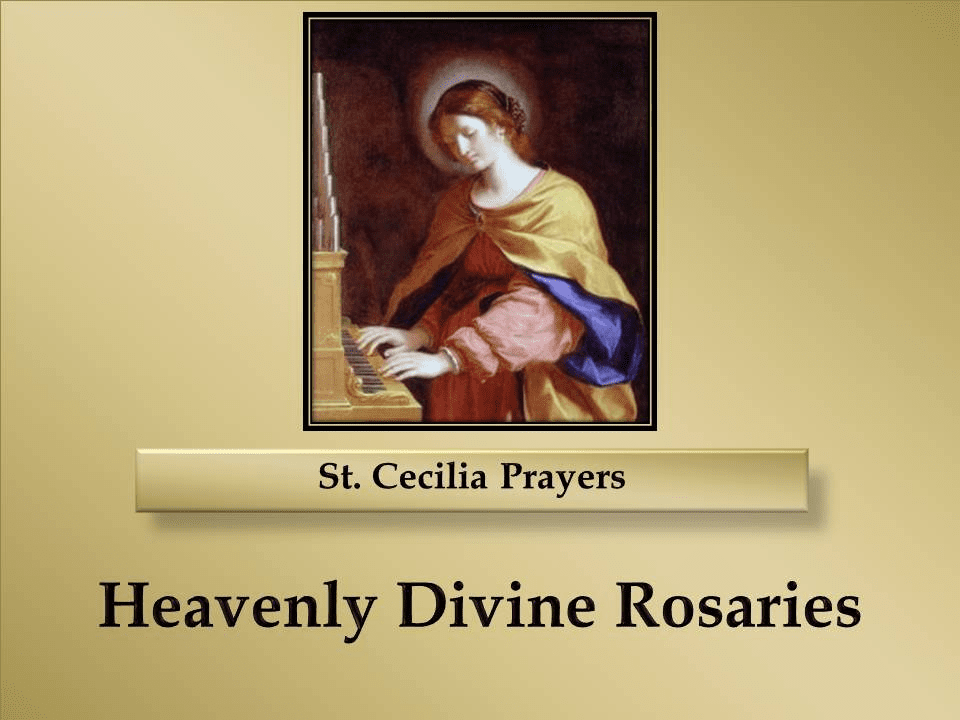 St. Cecilia Prayers