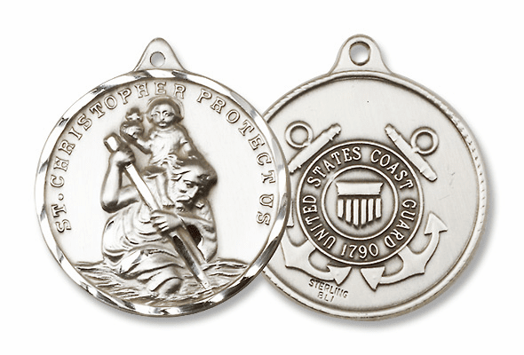 St. Christopher Military Medals
