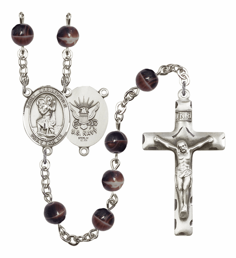 St Christopher Military Prayer Rosaries