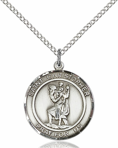 St Christopher Pewter Medals