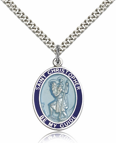 St Christopher Silver-filled & Silver-Plated Medals