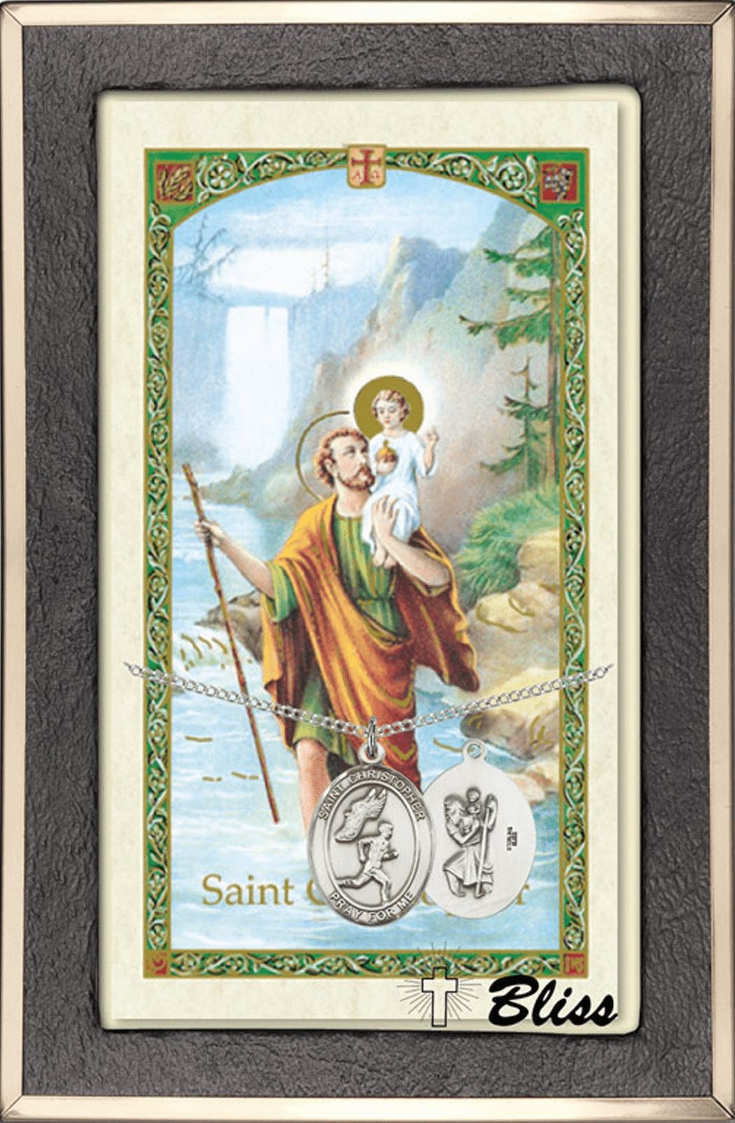 St Christopher Sports Prayer Card & Necklace Gift Sets