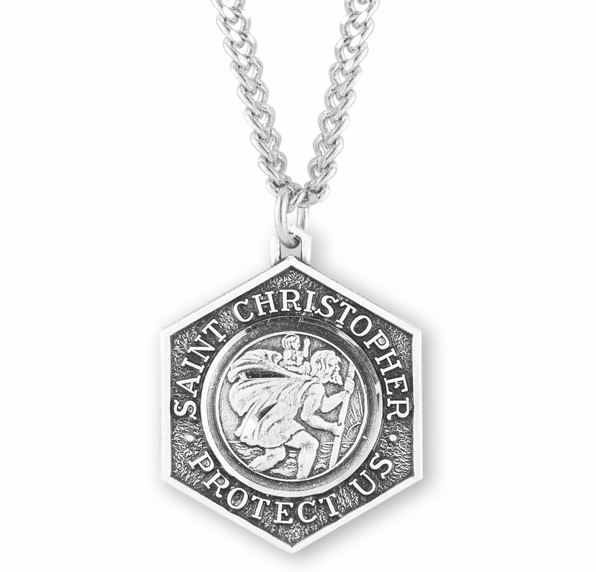 St Christopher Sterling Silver Medals