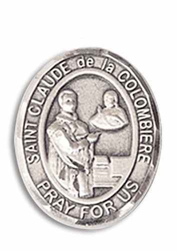 St Claude de la Colombiere Patron Saint of Toy Makers Rosary Center by Bliss
