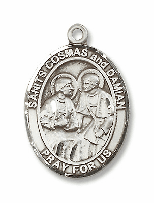 St Cosmas & St Damian Patron Saint for Doctors and Surgeons Jewelry & Gifts