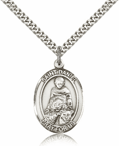 St Daniel is the Patron Saint for Prophecy Sterling-filled Medal by Bliss