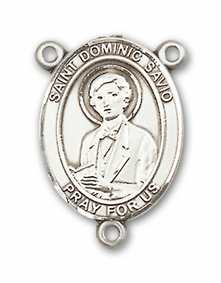 St Dominic Savio Patron Saint of Juvenile Delinquents Rosary Center by Bliss