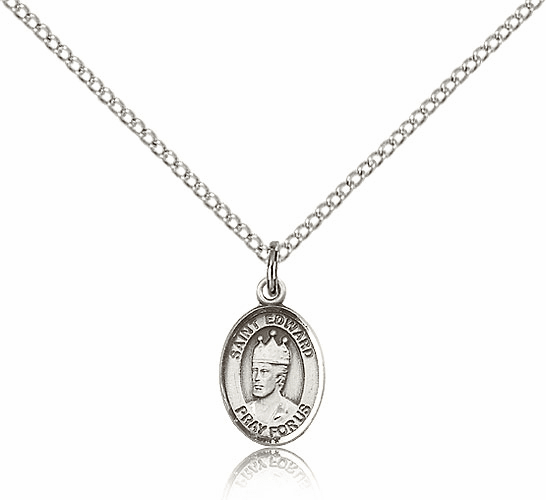 St. Edward the Confessor Saint Necklace by Bliss Manufauturing