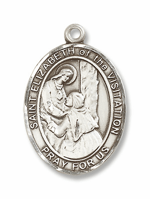 St Elizabeth of the Visitation Patron Saint of Expectant Mothers Jewelry & Gifts