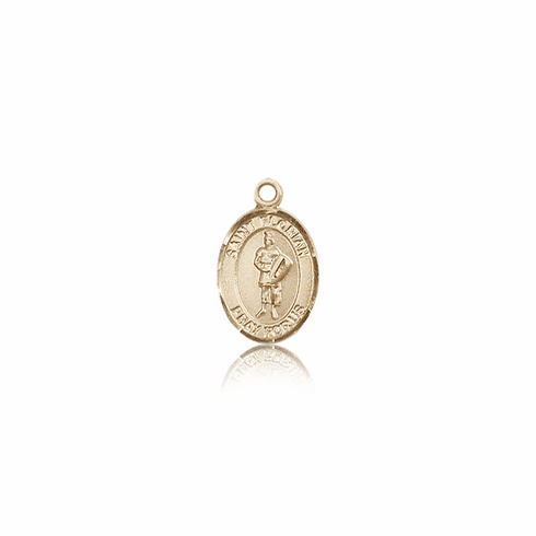 St. Florian 14kt Gold Medal Pendant by Bliss