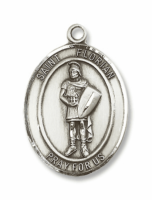 St Florian Patron Saint of Fire Fighters Jewelry & Gifts