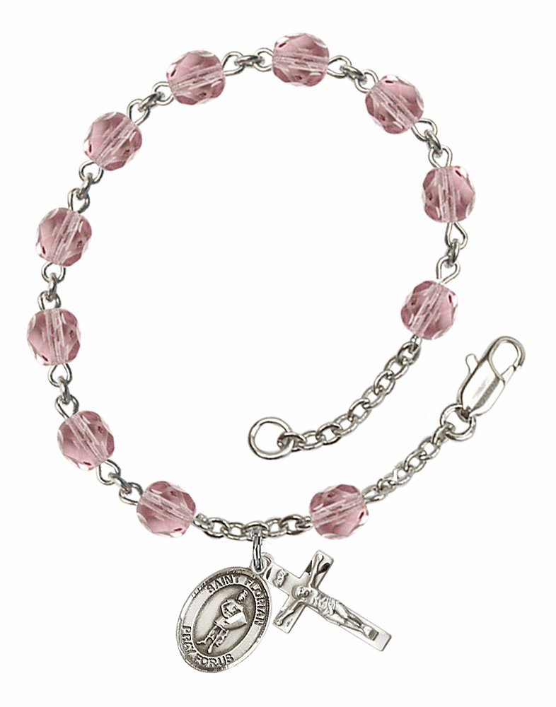 St Florian Rosary Bracelets and Charm Bangles