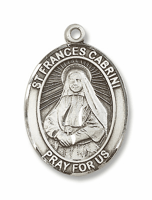 St Frances Cabrini Patron Saint for Mental Health Caregivers Medals & Gifts