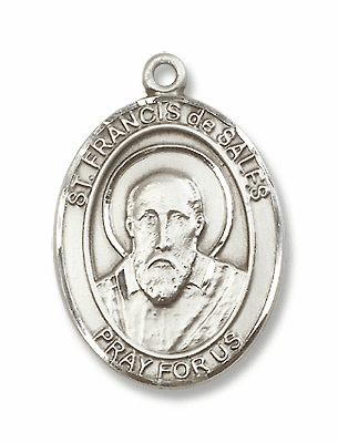 St Francis de Sales Patron Saint for Hearing Loss Medals & Gifts