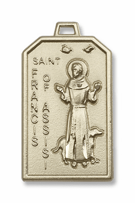 St Francis of Assisi Gold-Filled and Gold-Plated Jewelry