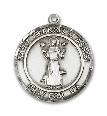St Francis of Assisi Sterling Silver Jewelry