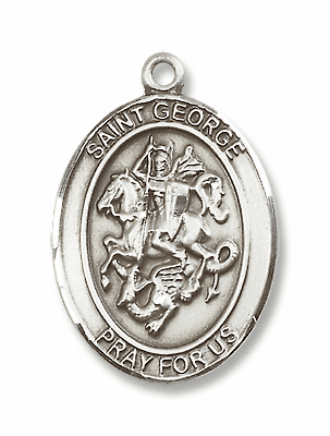 St George Boy Patron Saint of Boy Scouts/Soldiers Jewelry & Gifts