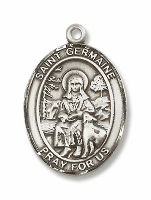 St Germaine Cousin Patron Saint for Disabled Persons Jewelry & Gifts