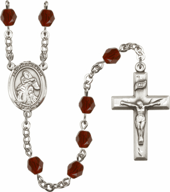 Prophet Isaiah Birthstone Crystal Prayer Rosary by Bliss - More Colors