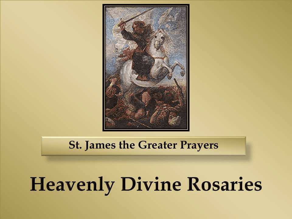 St. James the Greater Prayers