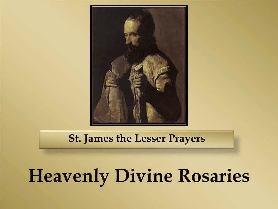St. James the Lesser Prayers
