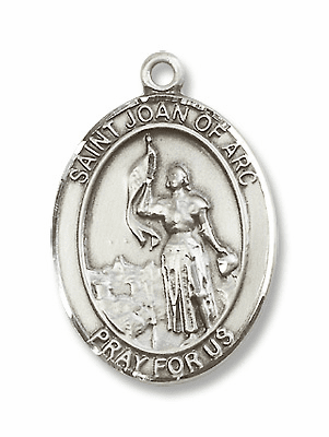 St Joan of Arc Medal Jewelry