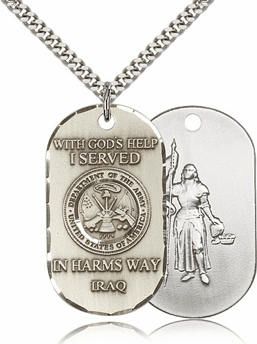 St Joan of Arc Military Medals