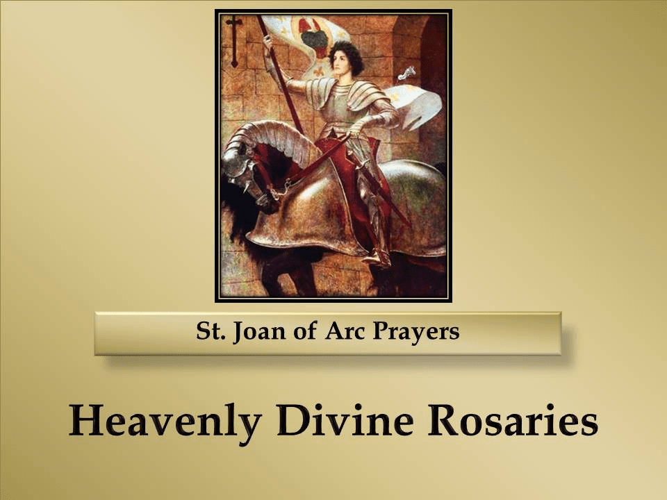 St. Joan of Arc Prayers