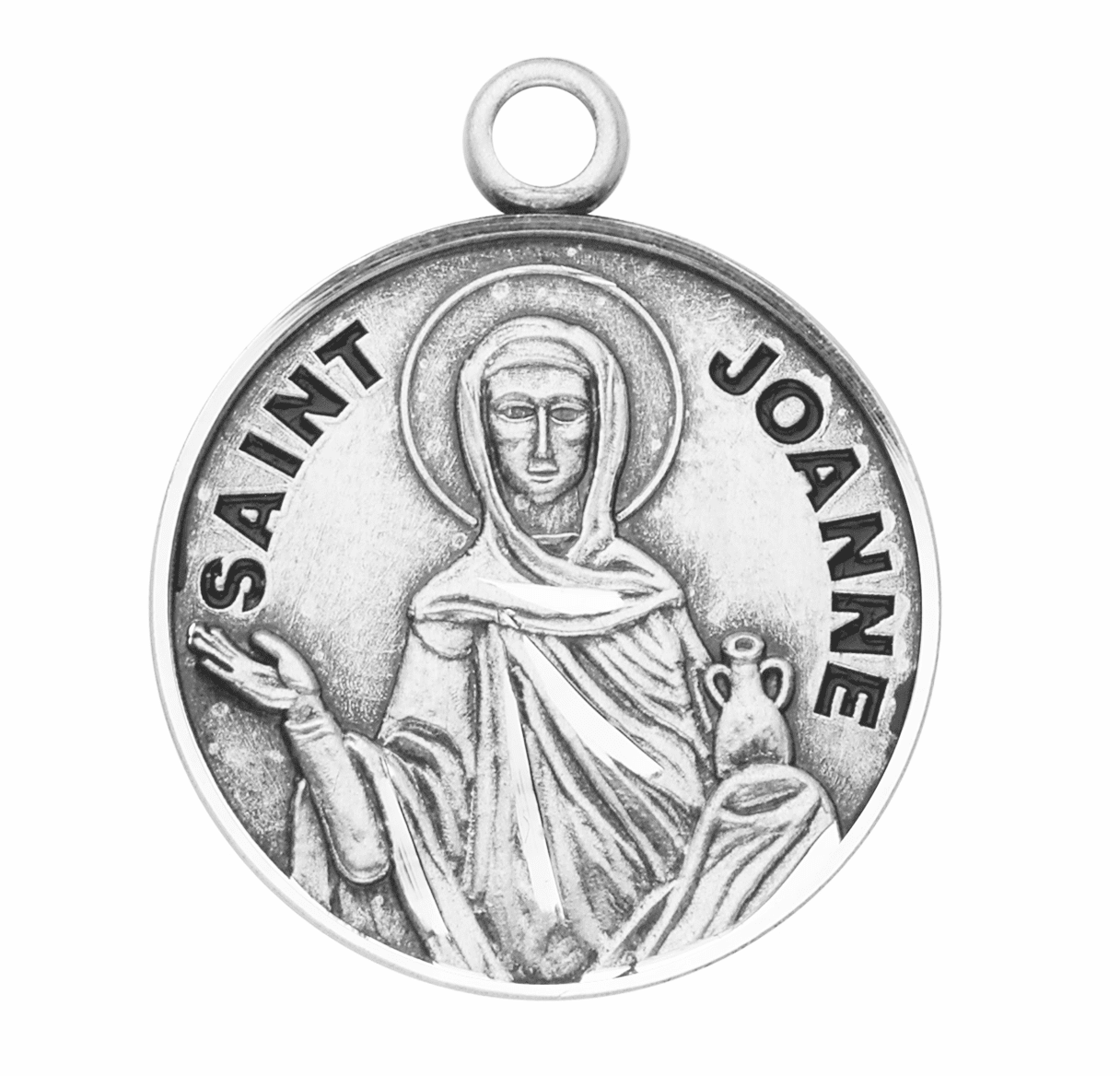 St Joanne Patron Saint of Anointing/Desperate Cases Jewelry & Gifts