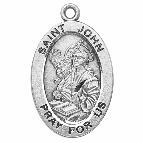St John the Evangelist Saint Medal