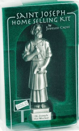 St Joseph Pewter Home Selling Kit