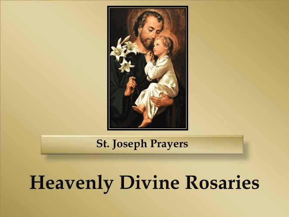 St. Joseph Prayers