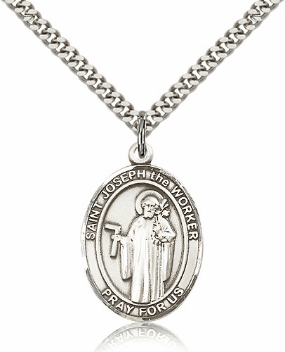St. Joseph The Worker Patron Saint Medals