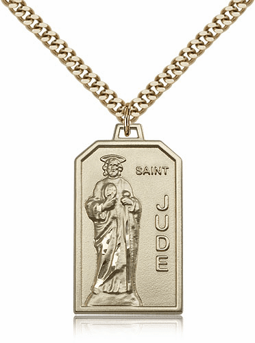 St Jude Thaddeus Gold-Filled and Gold-Plated Medals