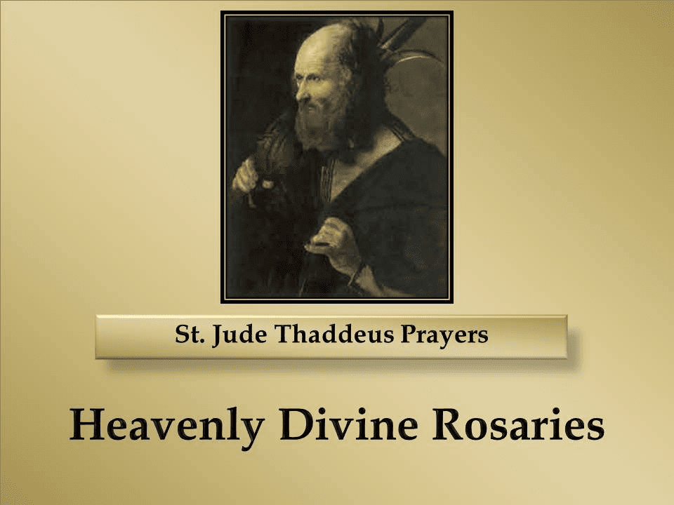St. Jude Thaddeus Prayers
